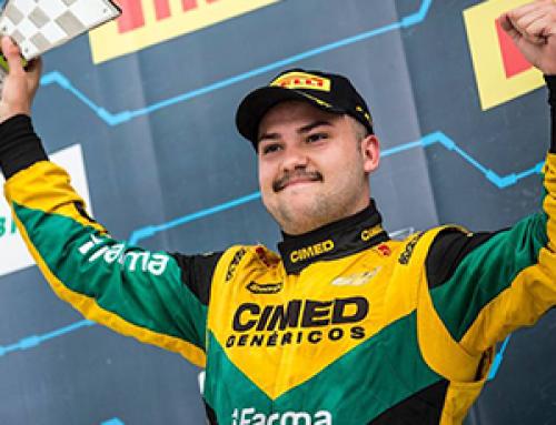 Felipe Fraga conquista pódio duplo em Goiânia e acirra briga pelo título da Stock!